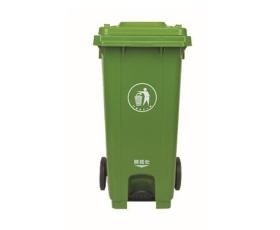 240L中间脚踏款垃圾桶